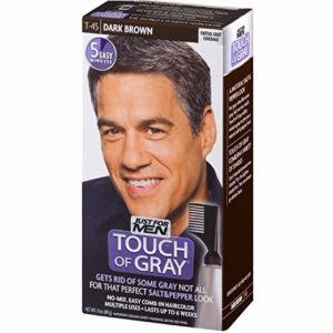 3 JUST FOR MEN Touch of Gray Hair Treatment T-45 Dark Brown