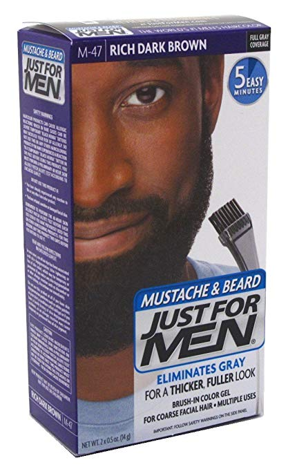 10 Best Just For Men Beard Dye Products - AtoZ Hairstyles