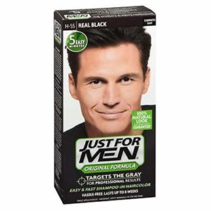 9 Just For Men Shampoo-In Haircolor, Real Black H-55