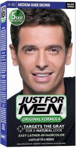 JUST FOR MEN Hair Color H-40 Medium Dark-Brown