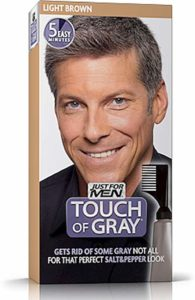 JUST FOR MEN Touch of Gray Hair Treatment T-25 - Light Brown