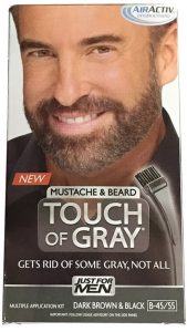 JUST FOR MEN Touch of Gray Mustache Beard Hair Treatment
