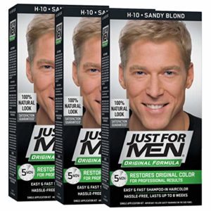 Just For Men Original Formula Men's Hair Color, Sandy Blond h 10