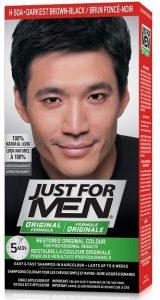 Just For Men darkest brown black