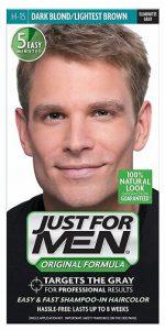 just for men dark blond or light brown