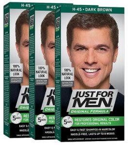 just for men dark brown