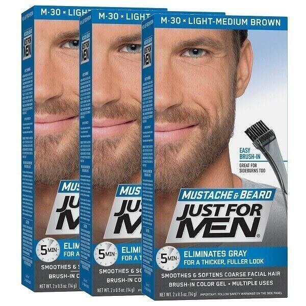 just for men light medium brown