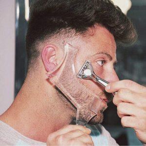 Mikebe beard shaping tool