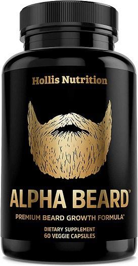 Alpha beard growth vitamins