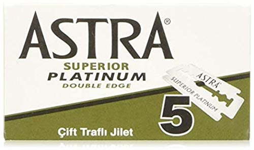 Astra Platinum Double Edge Safety Razor Blade