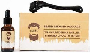Dukes beard growth serum