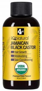 IQ Natural Jamaican Black Castor Oil