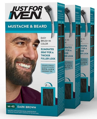 Just For Men Mustache and Beard