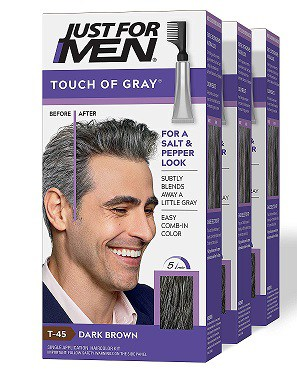 Just For Men Touch of grey hair