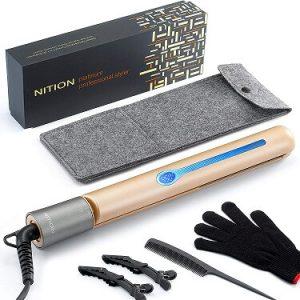 NITION Professional Salon Hair Straightener (1)