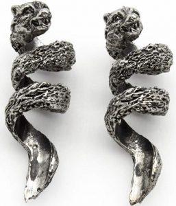 Norse Tradesman wolf beard bead coil
