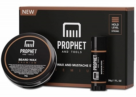 Prophet and Tools Beard and Mustache Wax
