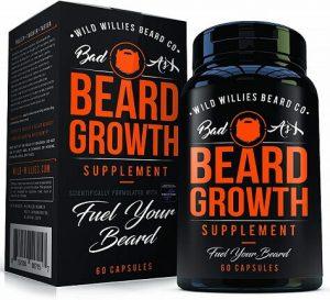 The Manskape Co beard growth vitamins