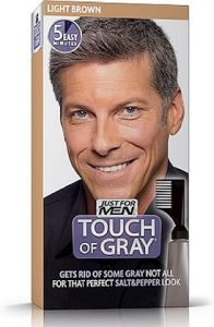 Touch Of Gray Mens Light Brown Hair colour