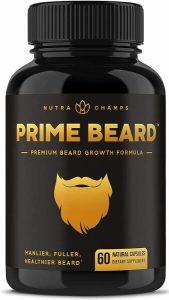 nutra champs prime beard vitamin