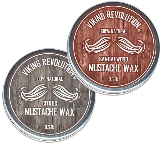 Viking Revolution Mustache Wax for Men