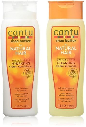 Cantu Shea Butter for Natural Hair Double Combo Shampoo