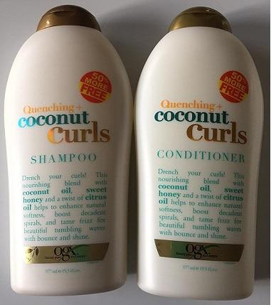 ogx quenching shampoo
