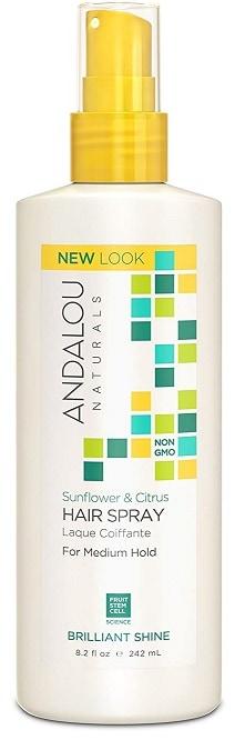 Andalou Naturals Brilliant Shine Hair Spray