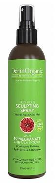 DermOrganic Flex Hold Sculpting Hair Spray