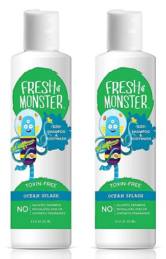 Fresh Monster Kids Shampoo & Body Wash