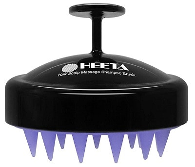 Heeta Hair Shampoo Brush Scalp Massager