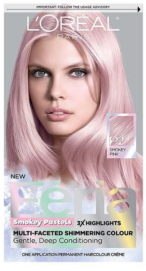 L'Oreal Paris Feria Shimmering Hair Color
