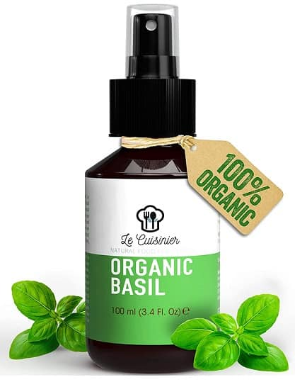 Le Cuisinier Organic Basil Oil Spray