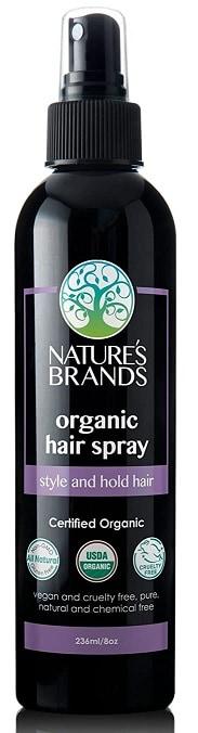 Nature's Organic Hair Spray by Herbal Choice Mari