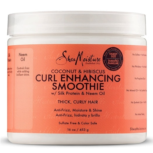 SheaMoisture Coconut and Hibiscus Smoothie