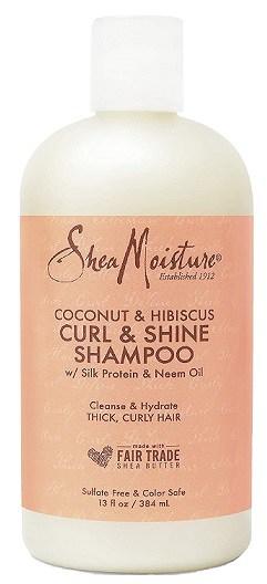 SheaMoisture Curl and Shine Coconut Shampoo