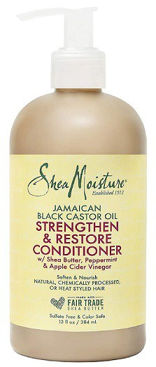 SheaMoisture Strengthen and Rinse Out Hair Conditioner