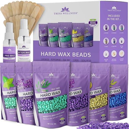 Tress Wellness Store Hard Wax Beans