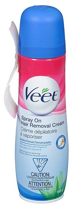 Veet Spray On Hair Remover Cream