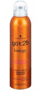 got2b Kinkier Gloss 'n Define Curling Mousse