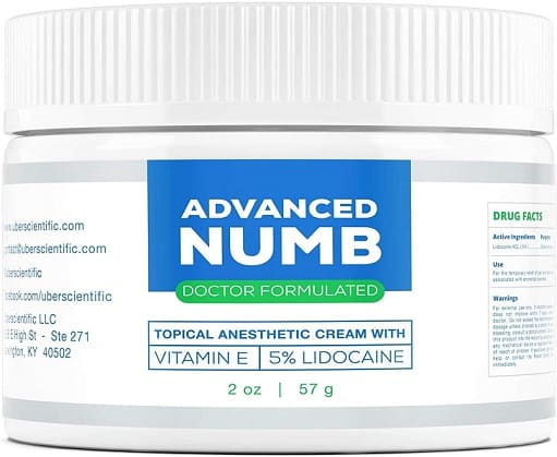 Advanced Numb Lidocaine Pain Relief Cream
