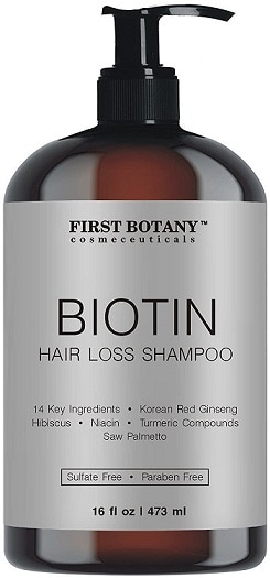 First Botany Cosmeceuticals Store Anti Hair Loss Shampoo