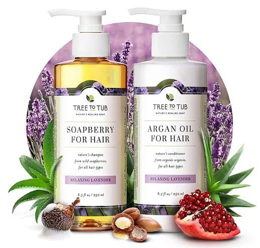 Gentle Argan Oil Shampoo by Tree to Tub
