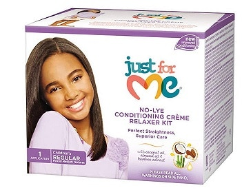 Just For Me No lye Regular Conditioning Creme Relaxer