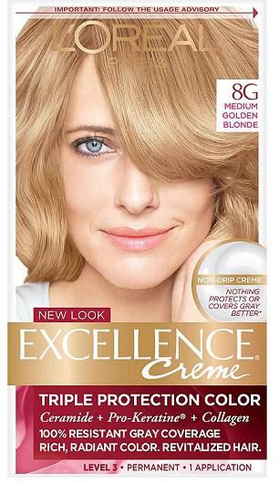 LOreal Paris Excellence Creme Permanent Hair Color