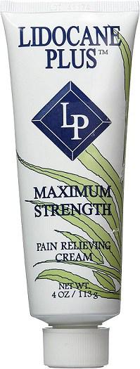 Lidocaine Plus Relieving Cream