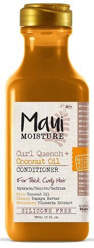 Maui Moisture curl quench coconut oil