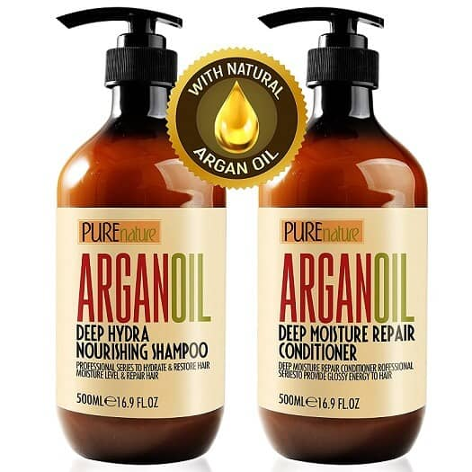 Moroccan Argan Oil Shampoo and Conditioner