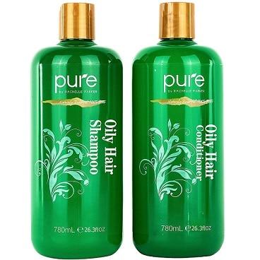 Oily Hair Shampoo & Conditioner Set