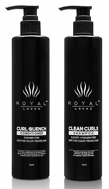 Royal Clean Curls Shampoo Curl Quench Conditioner